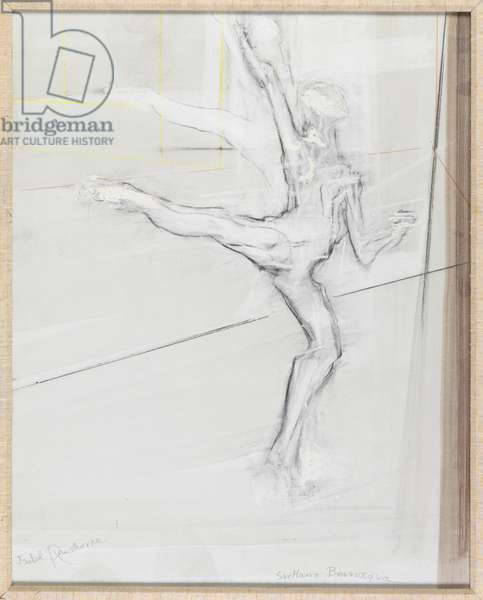 Svetlana Beriosova Study of Ballet Dancer (1) (oil on canvas)