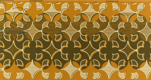 Quatrefoil, 1949-50 (colour litho)
