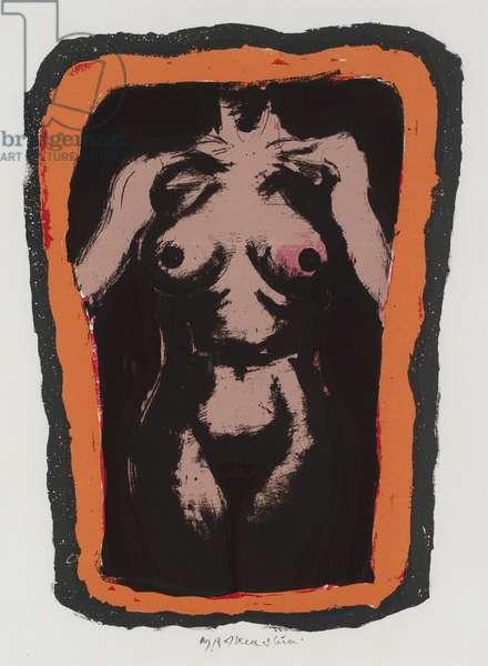 Nude, 1979 (screen print)