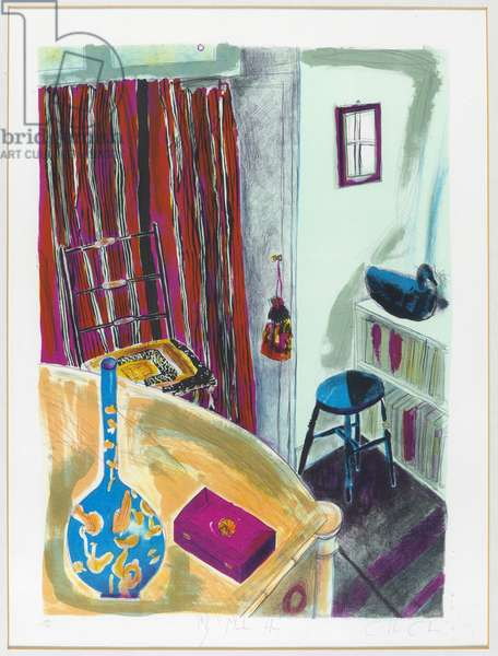 My Mother's House, c.1984 (colour litho)