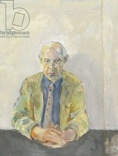 Portrait of Edward Bawden (oil on canvas)