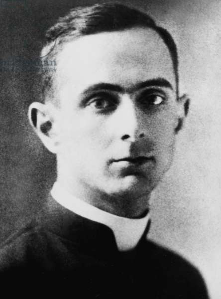 Giovanni Battista Montini, 1920 (b/w photo)