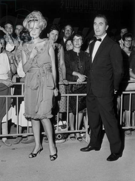 Monica Vitti et Michelangelo Antonioni