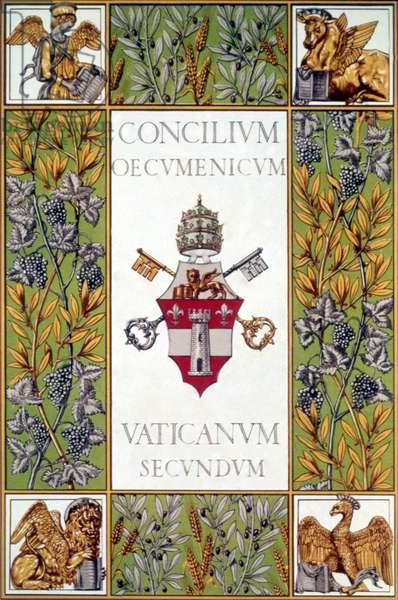 Bulle du concile oecumenique Vatican II (1962-65)