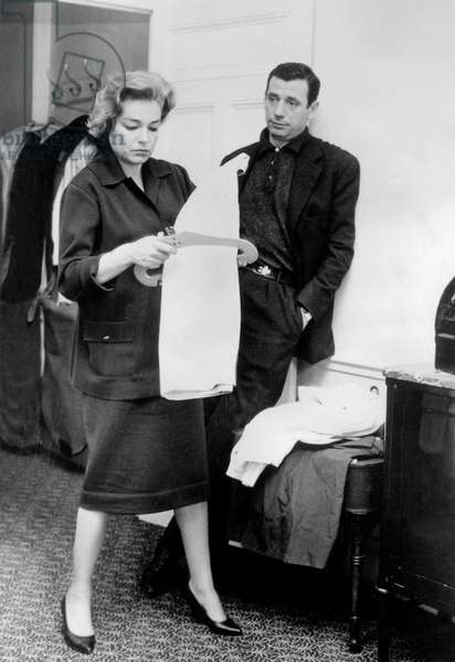 Signoret and Montand