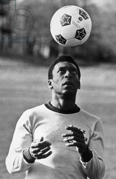 The King Pele, 1970's (b/w photo)