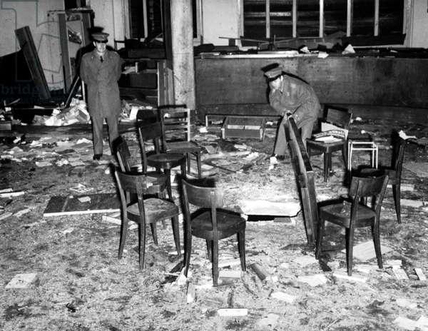 Bombing in Milan