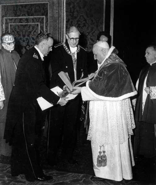 Jean XXIII and de Gaulle