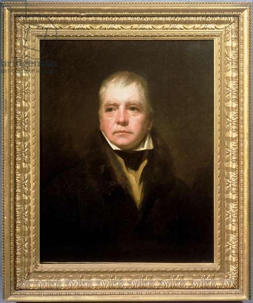 Portrait of Sir Walter Scott (1771-1832) (oil on canvas)