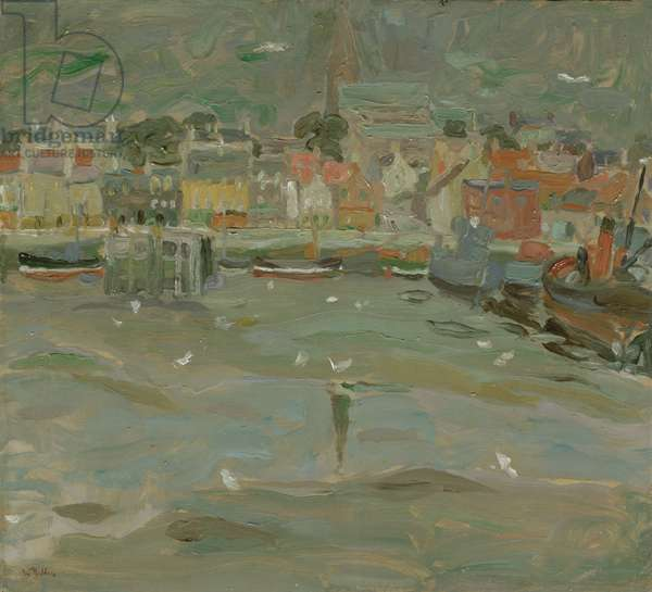 Anstruther, Fife (oil on board)
