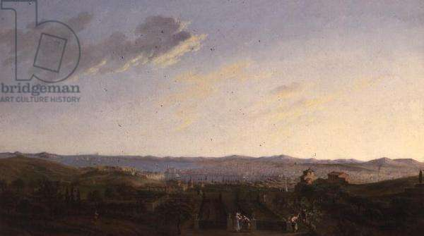 Marseilles (oil on canvas)