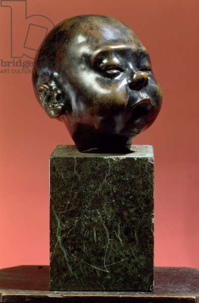 Baby Asleep, c.1907 (bronze)