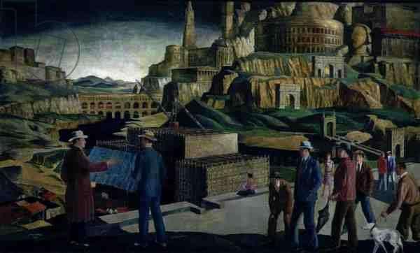The Egoist, 1927 (oil on board)