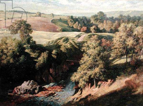 Pirner's Bridge, Angus, 1941 (oil on canvas)