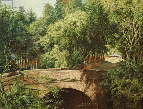 A Bridge in Angus, 1941 (oil on canvas)