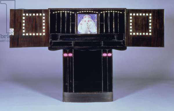 Writing desk for Hill House, Helensburgh, c.1902 (open) (see 71064)
