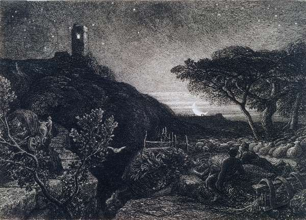 The Lonely Tower, 1879 (etching)