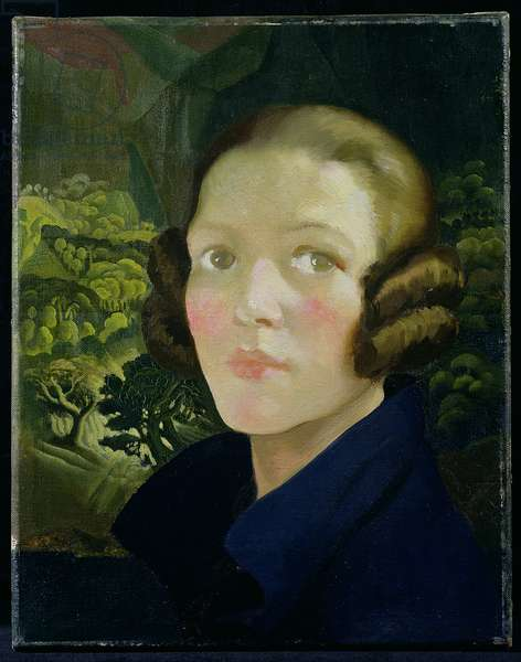 Self Portrait, 1926 (oil on canvas)