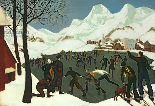 Snow, 1927 (oil on canvas)