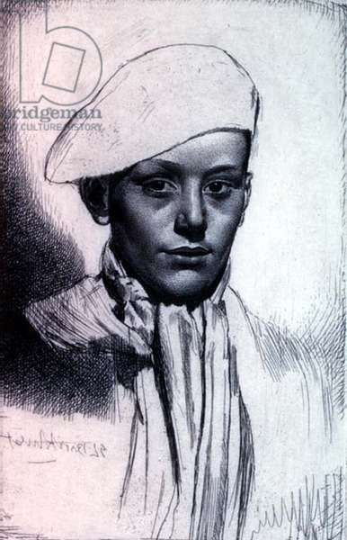 Cypriano, 1927 (etching)
