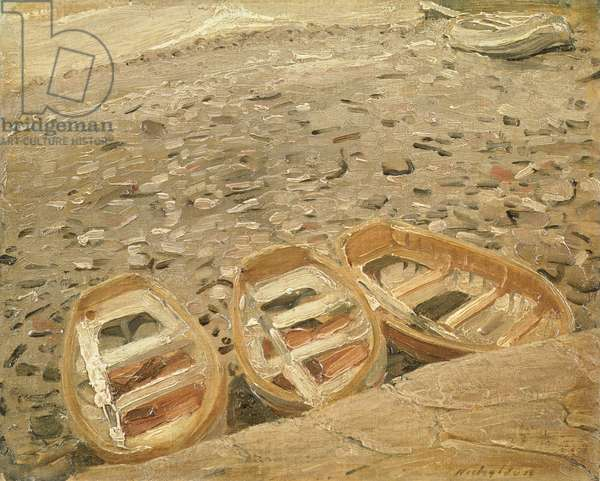 Three Boats, c.1928 (oil on canvas)
