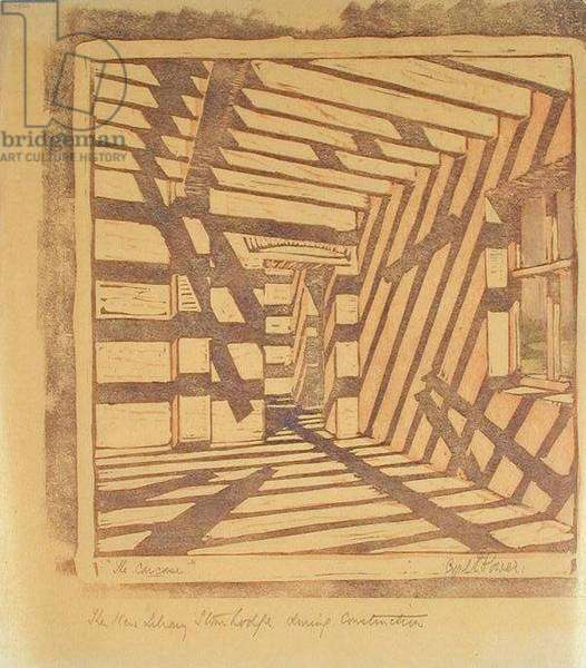 The Carcase, c.1929 (linocut)