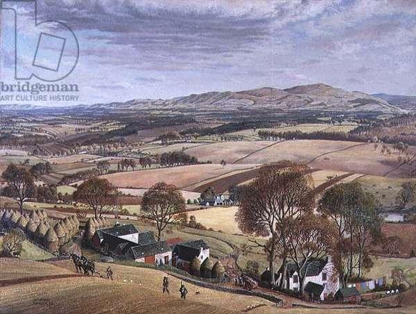 Autumn, Kinnordy, 1936 (oil on canvas)