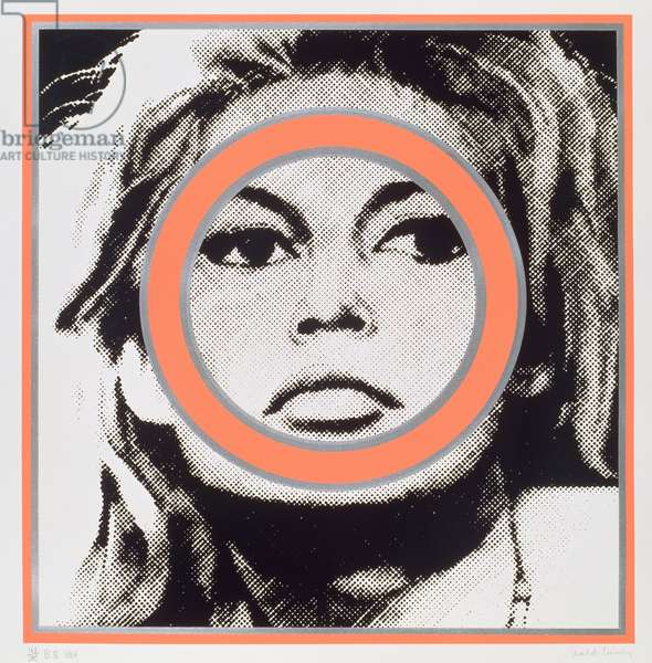Brigitte Bardot, 1968 (screenprint)