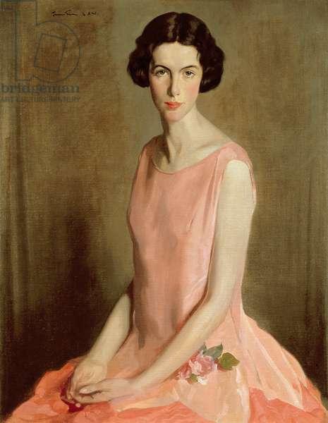 Portrait of Gwen, c.1925 (oil on canvas)