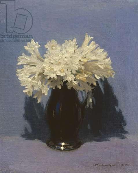 Freesias, 1910 (oil on canvas)