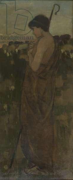 The Shepherd Boy, c.1881 (oil on canvas)