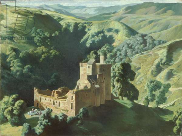 Castle Campbell, 1938 (oil on canvas)