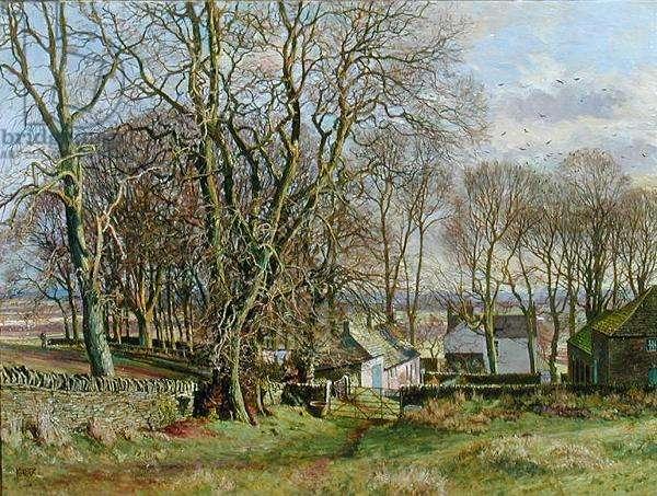 Sidlaw Farm, Balluderon (oil on canvas)