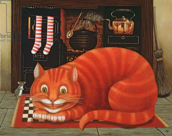 The Cheshire Cat, 1993 (oil & tempera on panel)