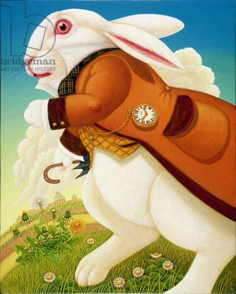 The White Rabbit, 2003 (oil & tempera on panel)