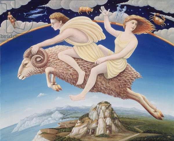 Aries, 1988 (oil & tempera on panel)