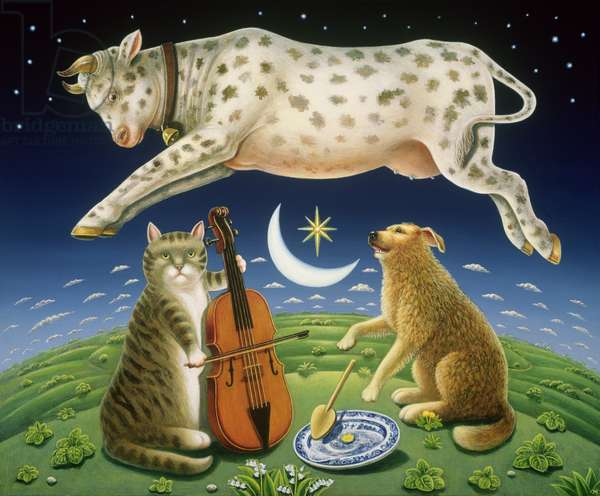 The Cat and the Fiddle, 2004 (oil & tempera on panel)