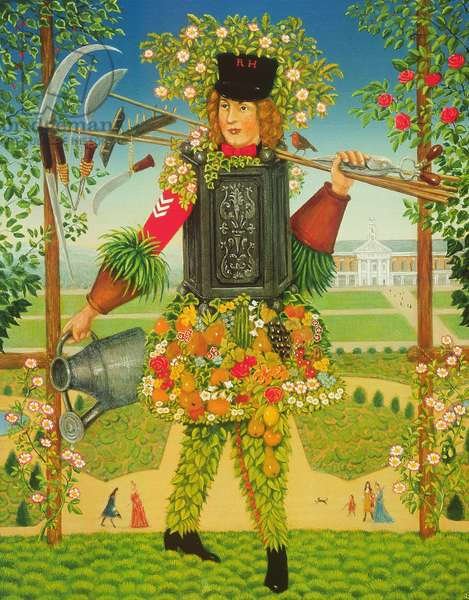 The Chelsea Gardener, 1995 (oil & tempera on panel)