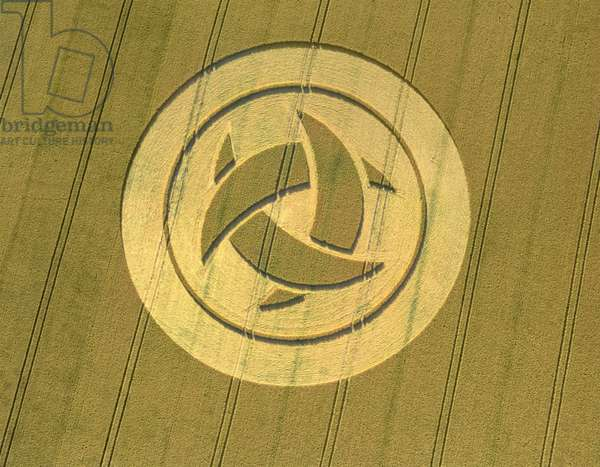 Crop Circle, 23rd July 1999 (photo)