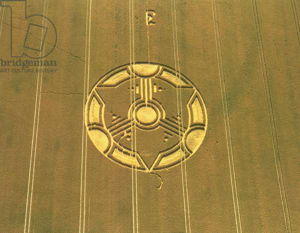 Crop Circle Formation, 21st July 1999 (photo)