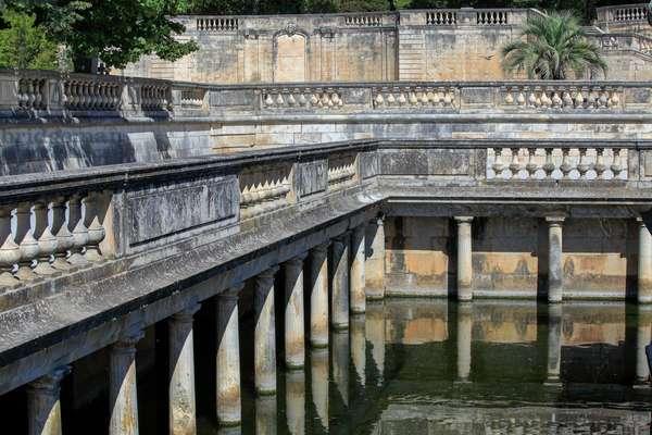 The fountain garden and Nymphaeum in Nîmes