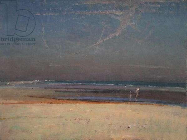 Solitude II (oil on board)