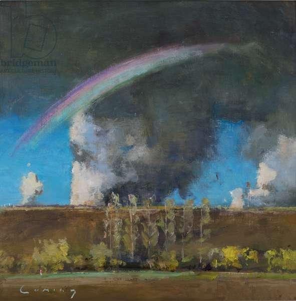 Rainbow, 2018 (oil on board)