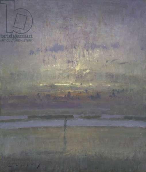 Dawn Sea (oil on board)