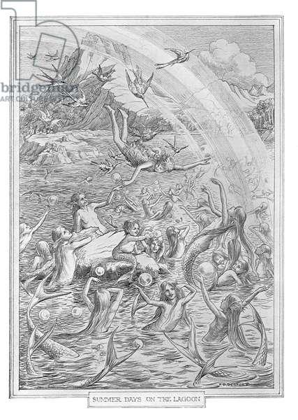 Summer Days on the Lagoon, 1911