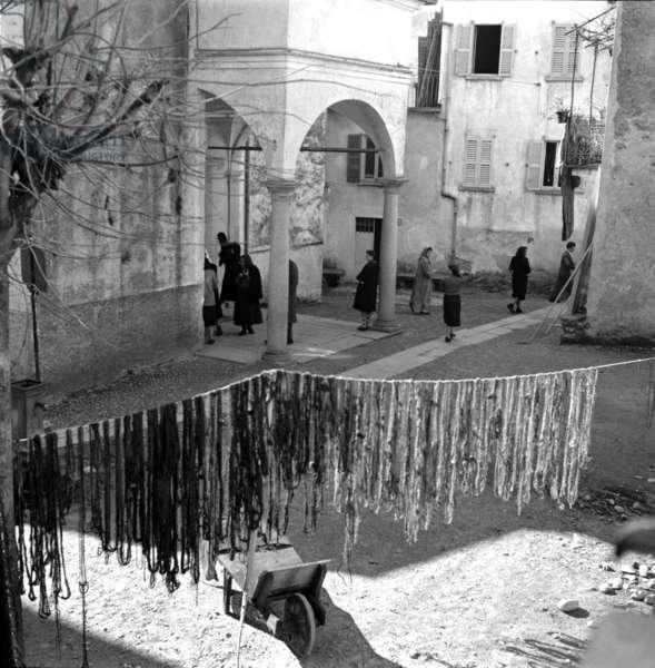 Lago Maggiore, Isola dei Pescatori, 1953.