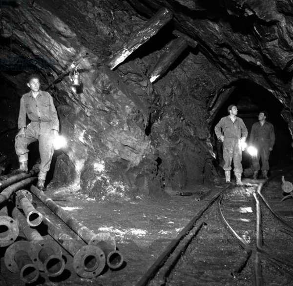 Borca di Macugnaga, maggio 1954. Miniere d'oro