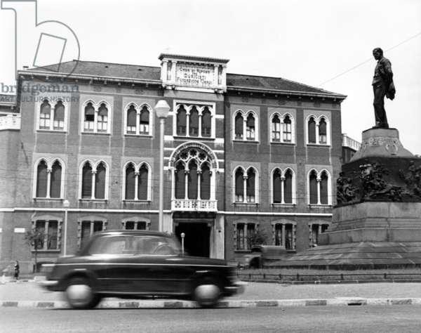 Milano, 1954. La casa di riposo per anziani musicisti Fondazione Giuseppe Verdi
