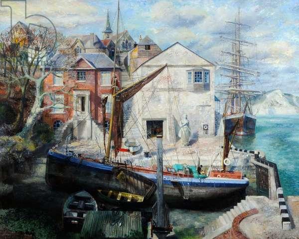 Dorset Cove, 1939 (oil on canvas)
