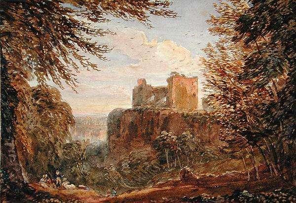 Chepstow Castle (w/c on paper)